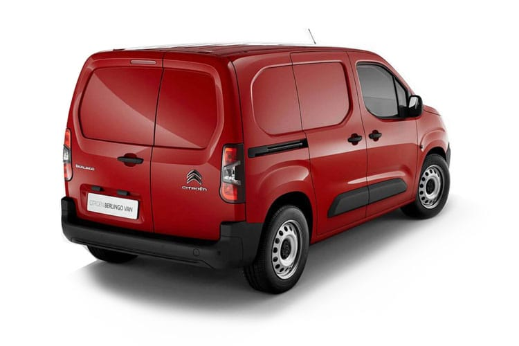 Citroen Berlingo XL 850Kg 1.5 BlueHDi FWD 100PS Enterprise Crew Van Manual [Start Stop] back view