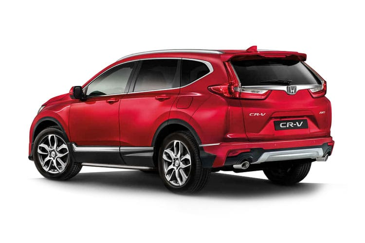 Honda CR-V SUV 2.0 h i-MMD 184PS EX 5Dr eCVT [Start Stop] back view