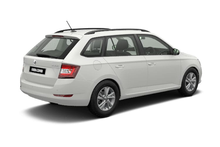 Skoda Fabia Estate 1.0 TSi 110PS SE 5Dr Manual [Start Stop] back view