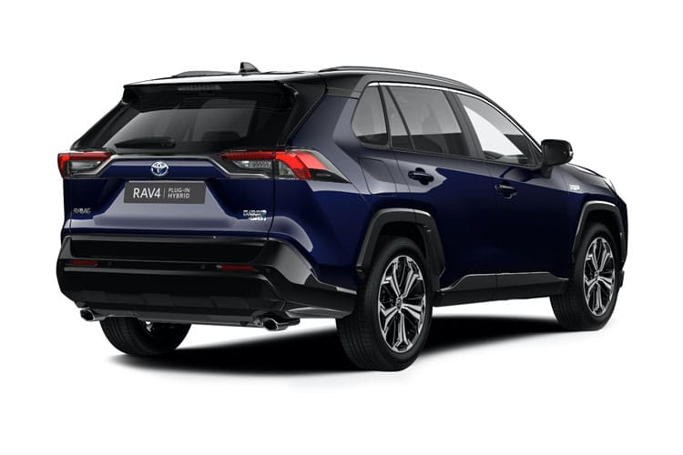 Toyota RAV4 SUV 4wd 2.5 VVT-h 222PS Excel 5Dr CVT [Start Stop] [Pan Roof] back view