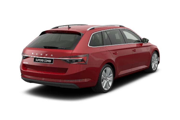 Skoda Superb Estate 1.4 TSI iV PiH 13kWh 218PS SportLine Plus 5Dr DSG [Start Stop] back view