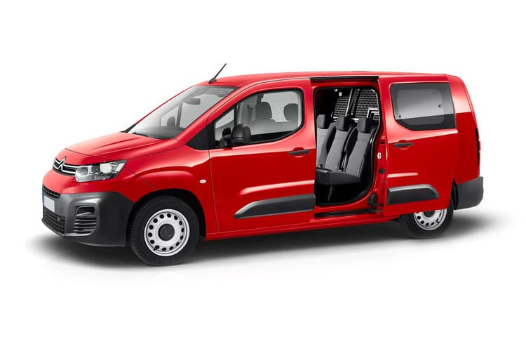 Citroen Berlingo XL 850Kg 1.5 BlueHDi FWD 100PS Enterprise Crew Van Manual [Start Stop] front view