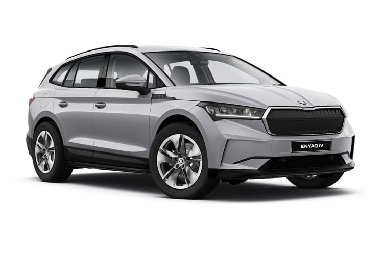 Skoda Enyaq iV 60 SUV Elec 62kWh 132KW 179PS Nav 5Dr Auto [ecoSuite] front view
