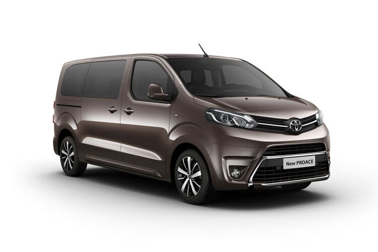 Toyota PROACE Verso Medium 1.5 D FWD 120PS Shuttle MPV Manual [Start Stop] [9Seat] front view