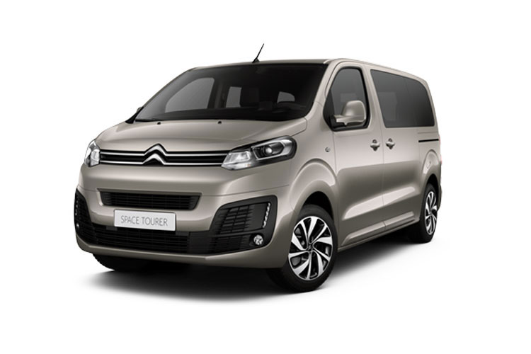 Citroen SpaceTourer M 5Dr 2.0 BlueHDi FWD 120PS Feel MPV EAT [Start Stop] [8Seat] front view