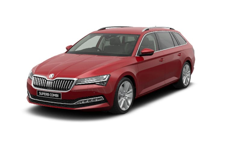 Skoda Superb Estate 1.4 TSI iV PiH 13kWh 218PS SportLine Plus 5Dr DSG [Start Stop] front view