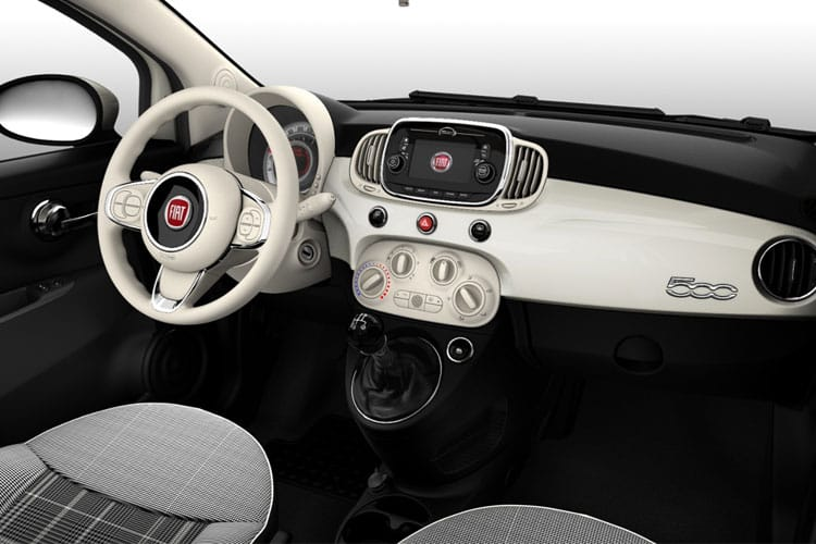 Fiat 500e C Convertible Elec 42kWh 87KW 118PS Icon 2Dr Auto inside view