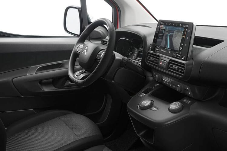 Citroen Berlingo XL 850Kg 1.5 BlueHDi FWD 100PS Enterprise Crew Van Manual [Start Stop] inside view
