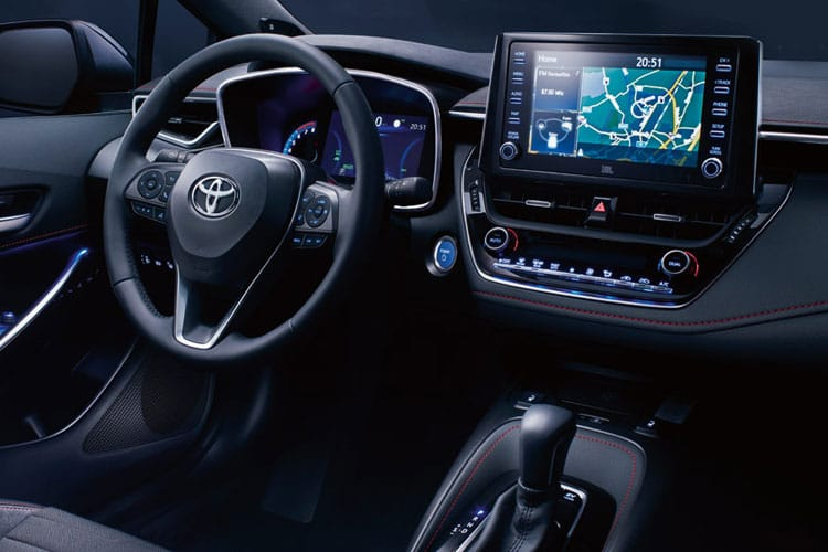 Toyota Corolla Touring Sports 1.8 VVT-h 122PS Excel 5Dr CVT [Start Stop] inside view