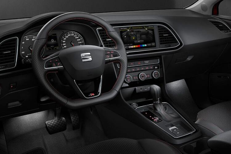 SEAT Leon Hatch 5Dr 1.5 TSI EVO 130PS SE 5Dr Manual [Start Stop] inside view