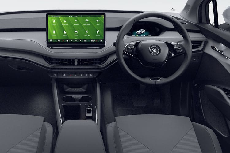 Skoda Enyaq iV 80 SUV Elec 82kWh 150KW 204PS  5Dr Auto [Suite] inside view