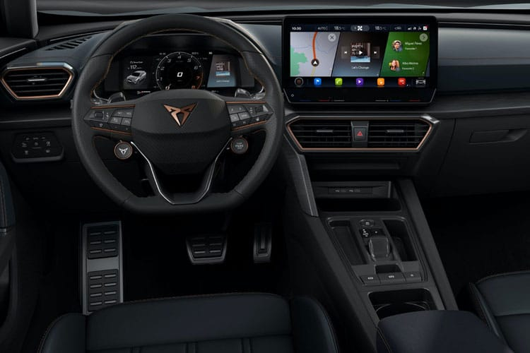 CUPRA Formentor SUV 1.4 eHybrid PHEV 12.8kWh 204PS V1 5Dr DSG [Start Stop] inside view