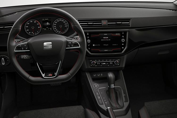 SEAT Ibiza Hatch 5Dr 1.0 TSI 110PS FR 5Dr DSG [Start Stop] inside view