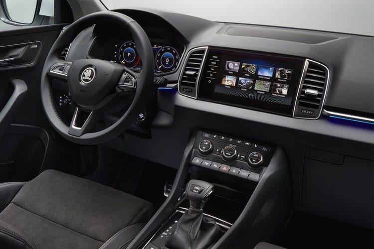 Skoda Karoq SUV 2.0 TDi 150PS SE Drive 5Dr Manual [Start Stop] inside view
