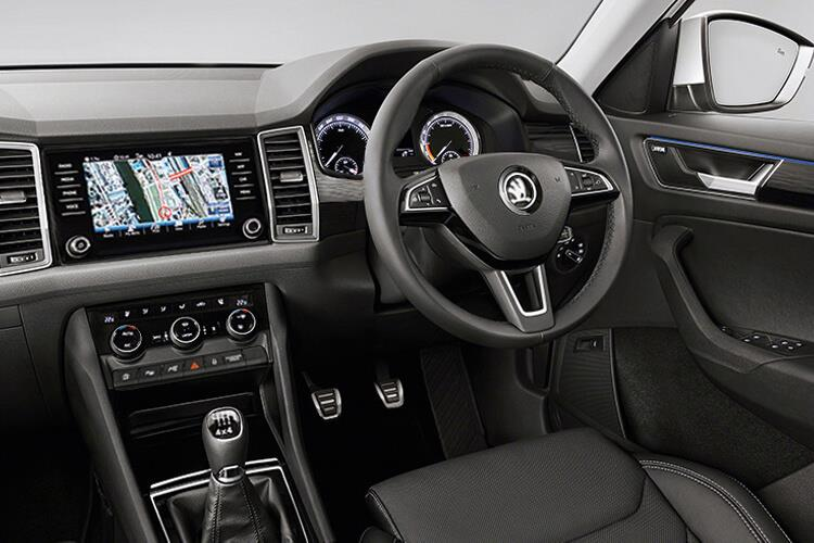 Skoda Kodiaq SUV 1.5 TSi ACT 150PS SE L 5Dr DSG [Start Stop] [7Seat] inside view