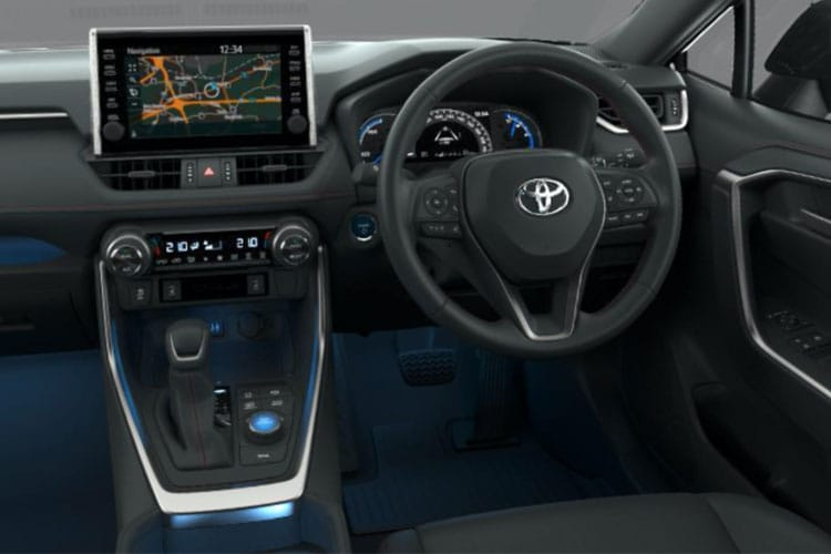 Toyota RAV4 SUV 4wd 2.5 VVT-h 222PS Excel 5Dr CVT [Start Stop] [Pan Roof] inside view