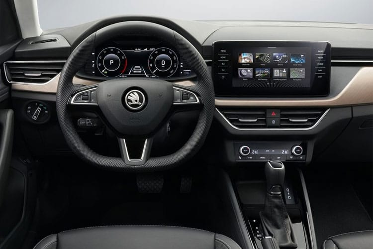 Skoda Scala Hatch 5Dr 1.0 TSi 110PS SE L 5Dr Manual [Start Stop] inside view