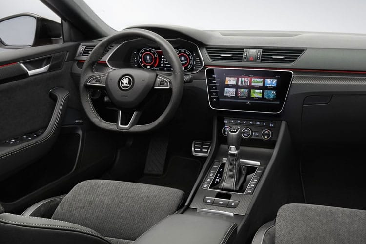 Skoda Superb Estate 1.4 TSI iV PiH 13kWh 218PS SportLine Plus 5Dr DSG [Start Stop] inside view